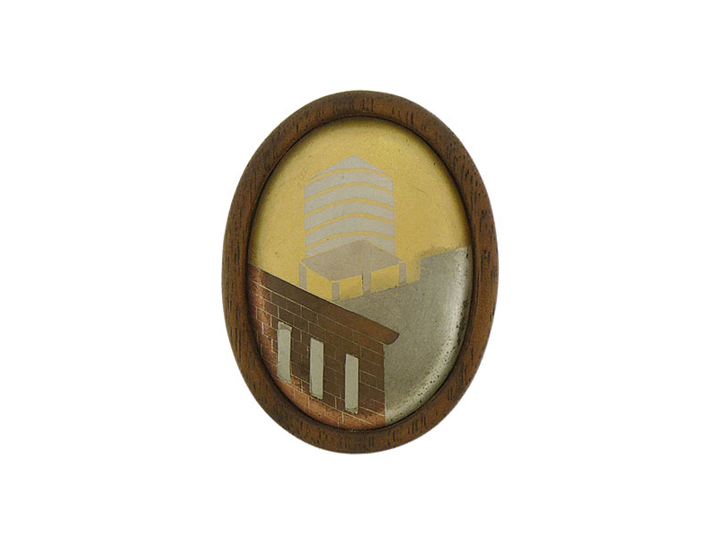 Lola Brooks, NYC Water Tower Brooch, 2007