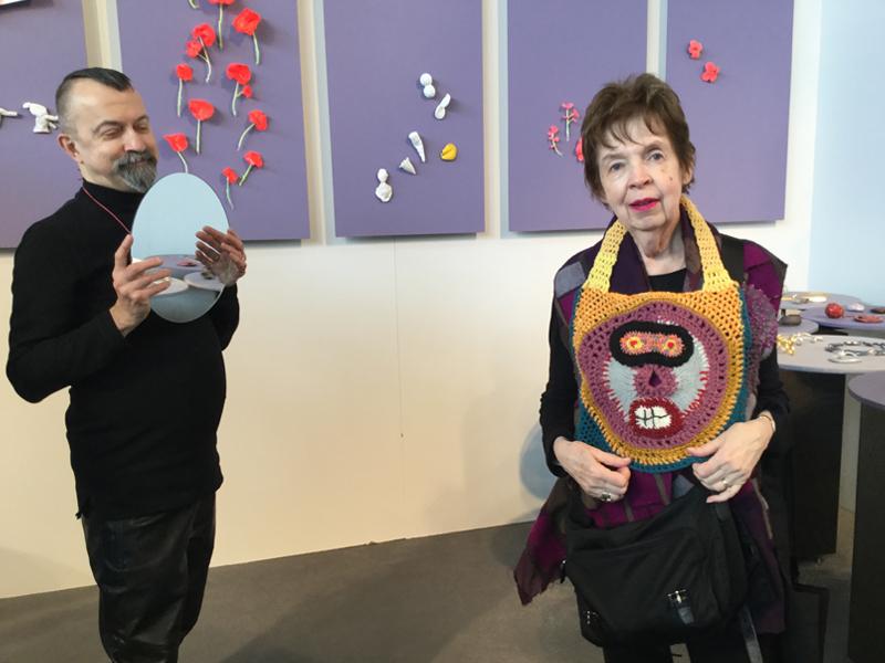 Paul Derrez, Barbara Berlin, Galerie Ra, IHM, Munich 2017