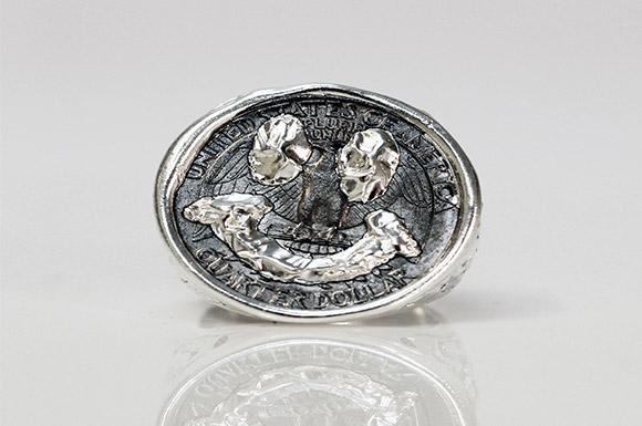 Göran Kling, Jewellery Be Like, ring, silver