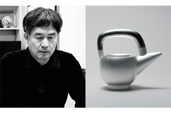 Yong-il Jeon, Pot with a Nickel Handle