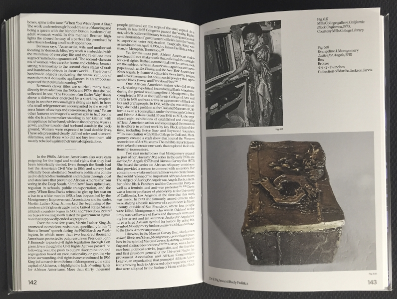Pages 142–143 of the book In Flux