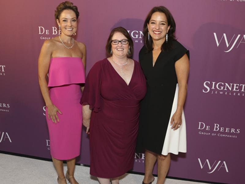 Bernadette Mack, Jenny Luker, and Mercedes Abramo