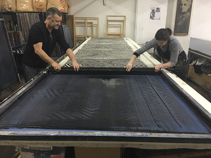 Screen-printing process for Continuity of Protection
